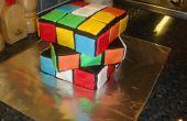Comment faire le gâteau de Cube de Rubik totalement génial !