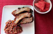 Pression cuit BBQ Ribs