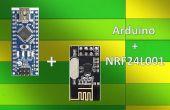 Sans fil à distance à l'aide de NRF24L01 de 2,4 Ghz: Simple tutoriel à l'aide de NRF24L01 & Arduino