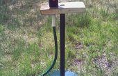 Stand sur une lampe de Style torchère par aspersion
