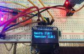 Arduino Nano avec capteur DHT & OLED