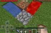 Comment faire un super duper facile cailloux pierre générateur MCPE