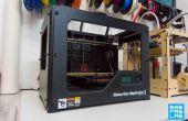 Imprimindo 3D com une Makerbot Rep 2