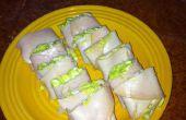 Salade aux oeufs de paléo « Sushi »