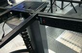 Réglable en hauteur (assis / debout) Bureau alimentation cordon Hack