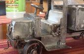 Camion Mack AC Bulldog-jouet--Partie 4--capot de moteur et cabine