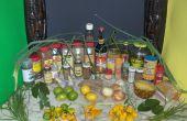 Profonde du spectre Jamaican Jerk poulet (60 + ingrédients)