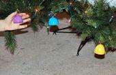 Ornements de Noël de Kitty-coffre