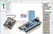 Arduino Nano : Lecture DS1820/DS18S20 Maxim un fil thermomètre adresse avec Visuino