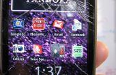 En démontant le HTC Hero pour téléphone Sprint (Android)