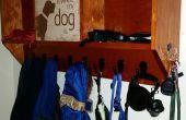 Signe de chien portemanteau
