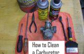 Nettoyage d'un carburateur en 8 étapes faciles !