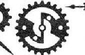 Fabrication RetroTech : Un Steampunk / horloge / engins Font