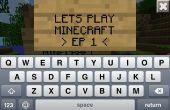 Permet de jouer Minecraft Ep 1