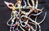 Comment faire un bracelet avec des perles en chanvre