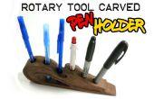 Rotary sculpté porte-stylo
