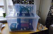 Boîtier pour imprimante 3d à l'aide de la boîte Ikea