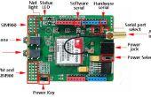 Shield Arduino et SIM900. Facile à utiliser.