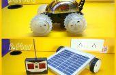 Voiture RC à relooking Robot solaire