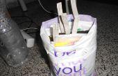 Comment organiser des sacs d'épicerie en plastique