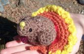 Simple et mignon Amigurumi Thanksgiving Turquie