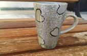 Tasse de café brillant bricolage