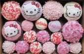 Bonjour Kitty Cupcakes