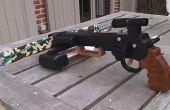 Arbalète pistolet (steampunk ou style militaire)