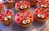 Mignon coccinelle Cupcakes