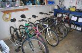 PVC Bike Stand