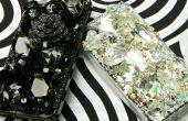 Jeweled facile Etui pour téléphone portable