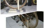 Stand de roue de vélo PVC