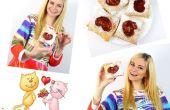 COMMENT FAIRE DES IDÉES DE CADEAUX POUR LE JOUR DE SAINT-VALENTIN ! Cœur de pâte feuilletée