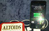Chargeur Apple/Samsung bricolage Altoids USB