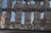 Comment construire l'aqueduc romain de Ségovie, en Espagne, avec du fil