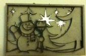 Carte de Noël 3D