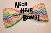 Sharpie teints boucles pour les cheveux tendance néon !