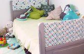 Upcycled ancien lit dans nouveau pour les enfants