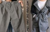Pantalon bricolage en Trench-Coat