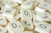 Scrabble des aimants pour réfrigérateur