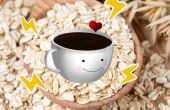 •Energizing café Oatmeal•