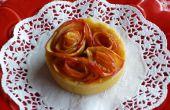 Mini tartes de Rosebud (Apple) - avec une option gratuite de gluten