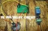 Détecteur de mouvement PIR 3V conduisant à un Module de relais (défectueux) 3v