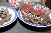 Valentine Vegan chocolat recette - Simple - 2-ingrédients !