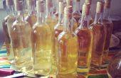Fait maison de vin de raisin