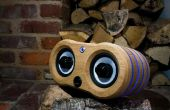 Faire une LED illuminée chêne haut-parleur Bluetooth