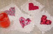 Comment faire Valentine Raggedy coeur sous-verres