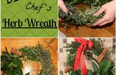 Guirlande herbe bricolage du Chef