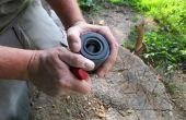 Fissuration des noix comme un plombier