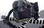 Comment construire une lumière vers le haut niveau de caméra pour un reflex numérique